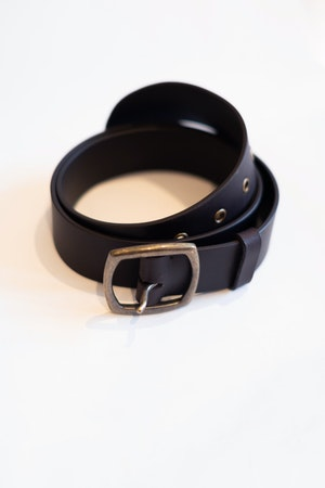 Leather Belt by Sea - 1