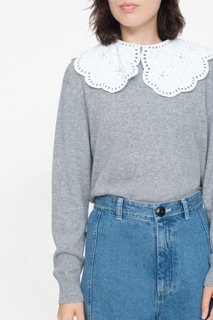 Zippy Lace Collar by Sea - 3
