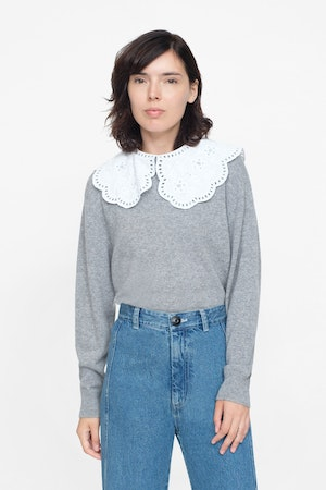 Zippy Lace Collar by Sea - 2
