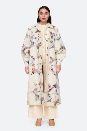 Paloma Coat by Sea - 2