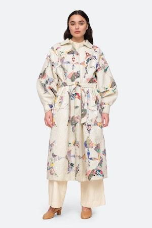 Paloma Coat by Sea - 3