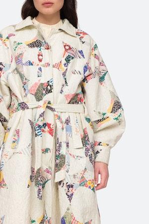 Paloma Coat by Sea - 6