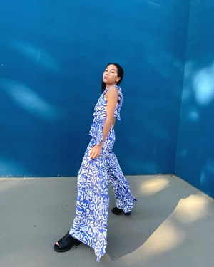 Farrah Jumpsuit by Tanya Taylor - 4