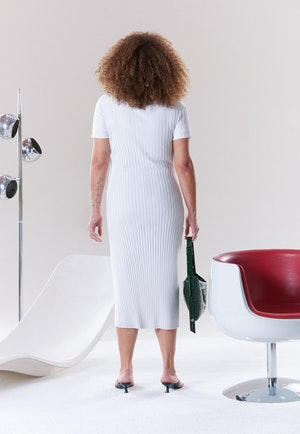 RIB Andros Dress in Macadamia by Simon Miller - 4