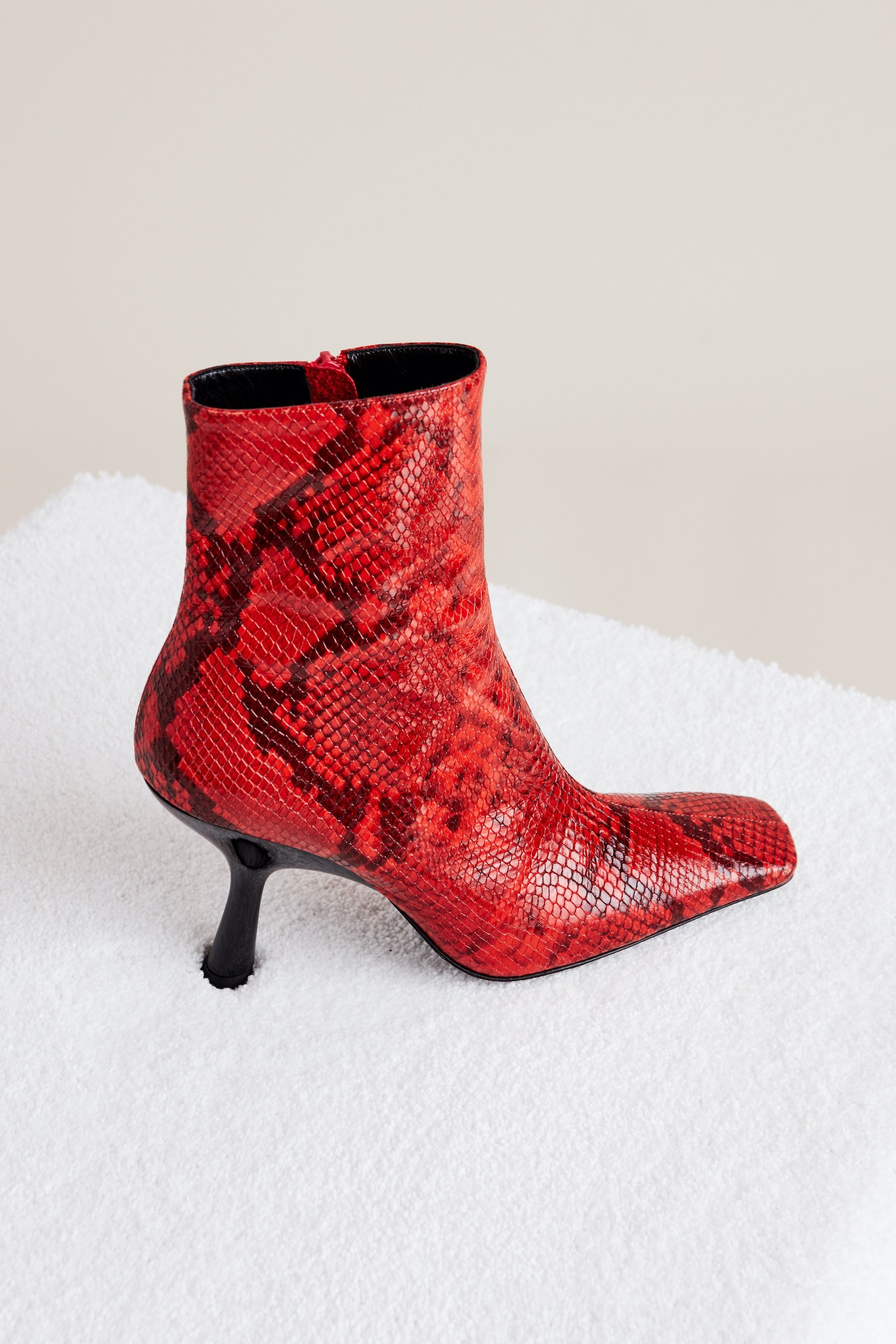 Foxy Boot in Tango Red by Simon Miller - 2