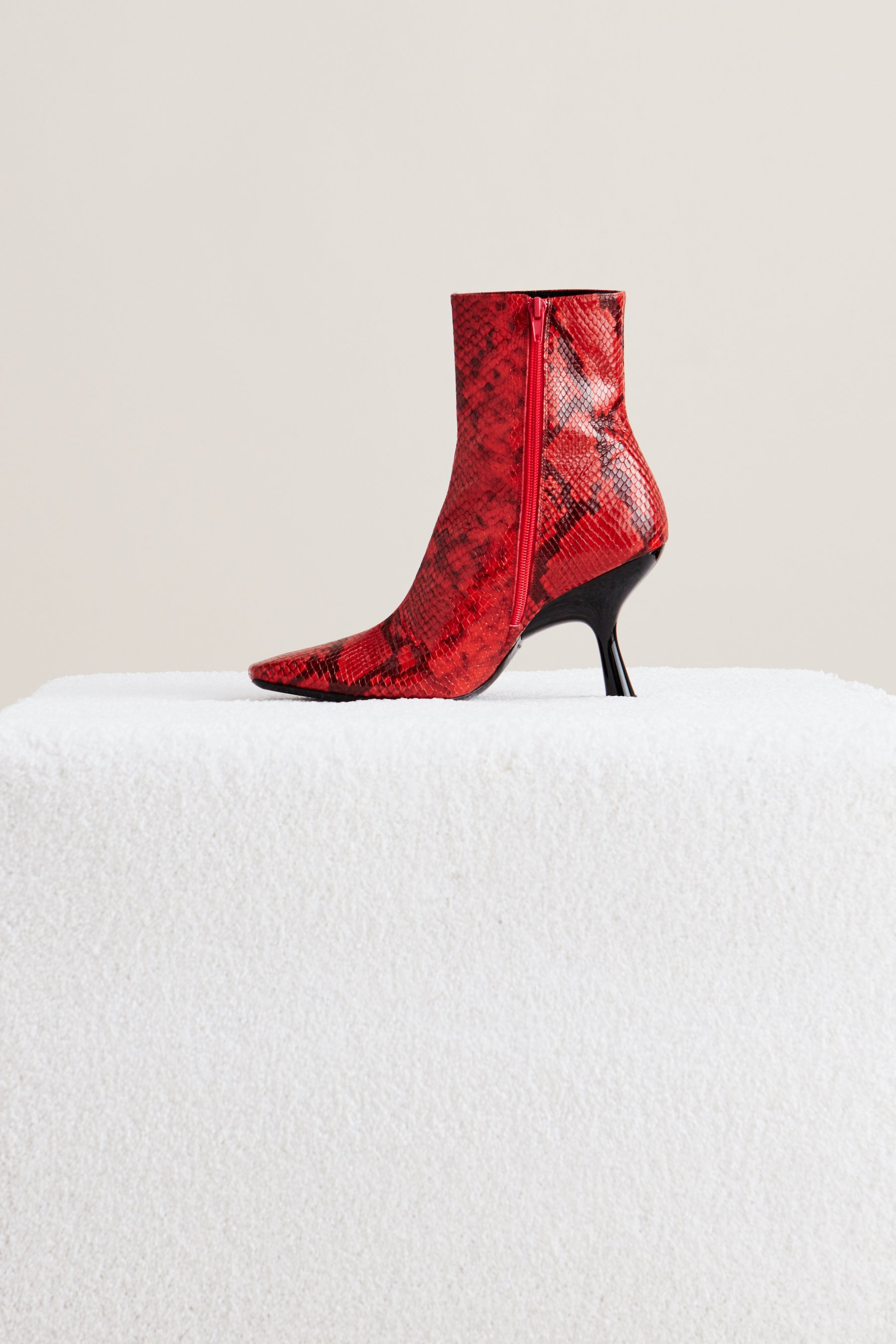 Foxy Boot in Tango Red by Simon Miller - 3
