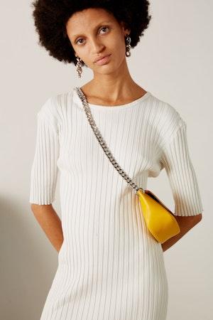 Mini Bend Bag in Signal Yellow by Simon Miller - 2