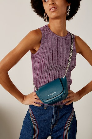 Mini Bend Bag in Octane Teal by Simon Miller - 4