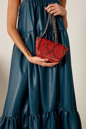 Mini Bend Bag in Tango Red by Simon Miller - 2