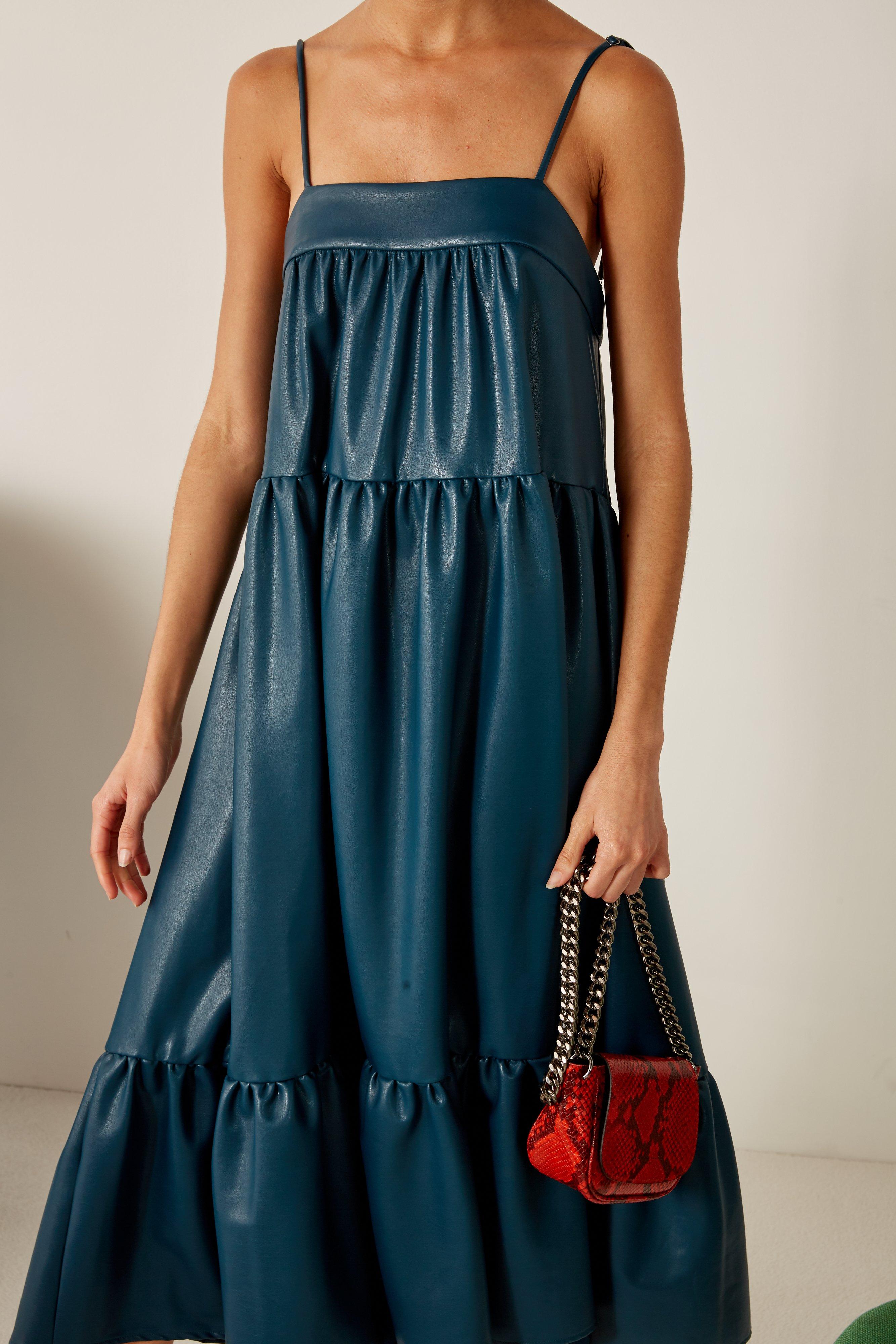 Mini Bend Bag in Tango Red by Simon Miller - 3