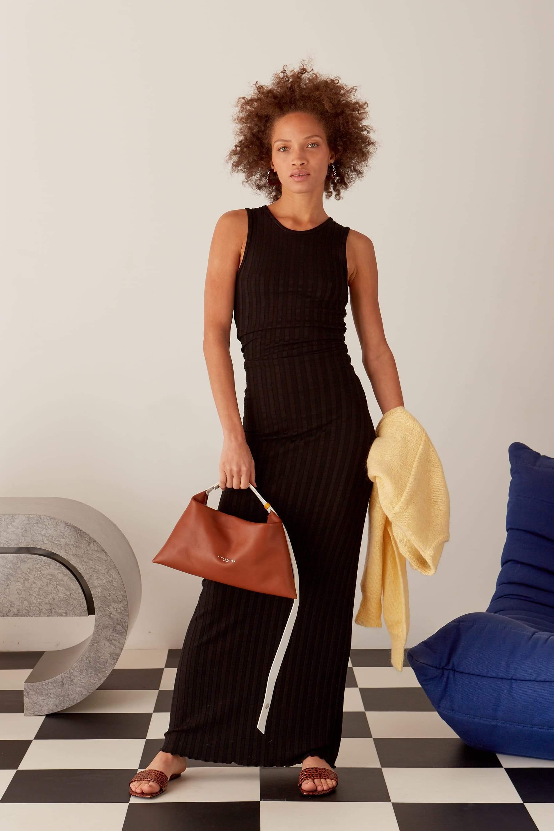 Puffin Bag in Tan Multi by Simon Miller - 4