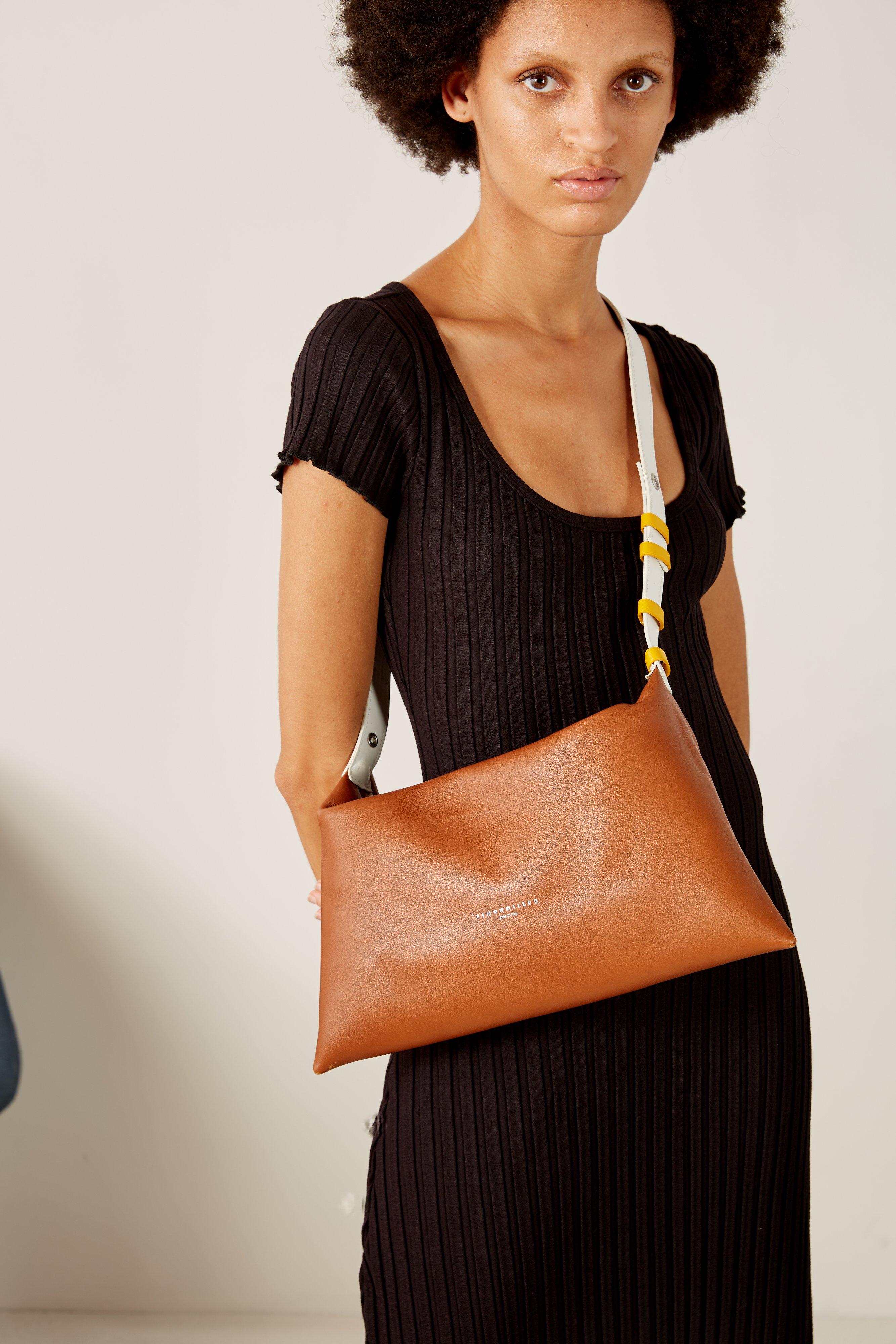 Puffin Bag in Tan Multi by Simon Miller - 3