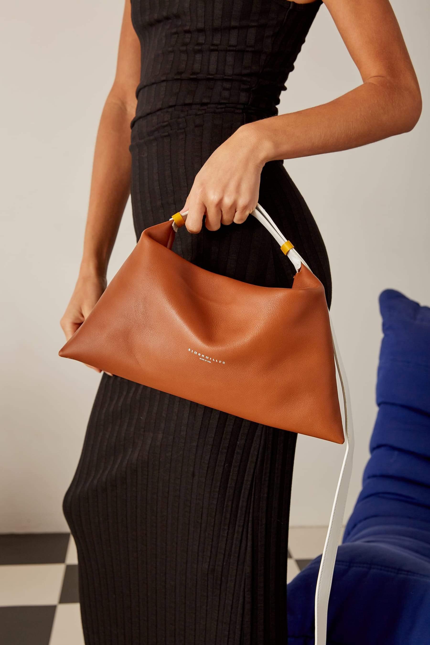 Puffin Bag in Tan Multi by Simon Miller - 2