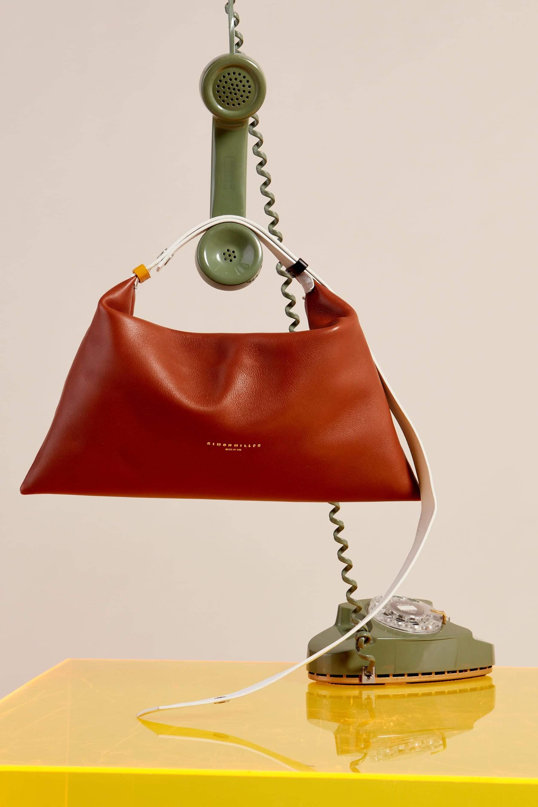 Puffin Bag in Tan Multi by Simon Miller - 6