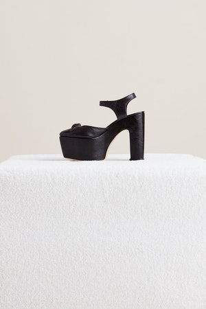 Rink Sandal in Black by Simon Miller - 2