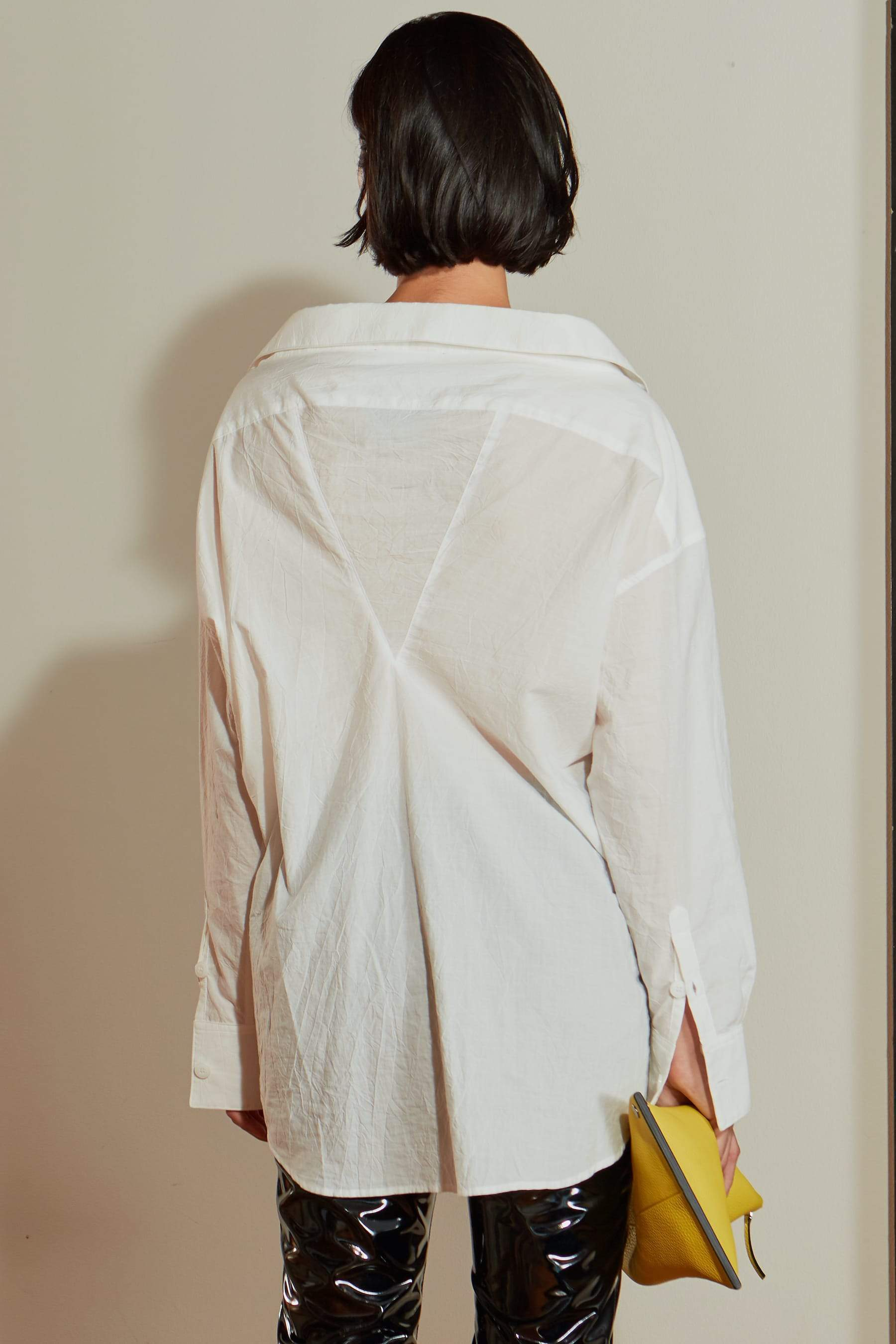 Tabor Shirt in White by Simon Miller - 5