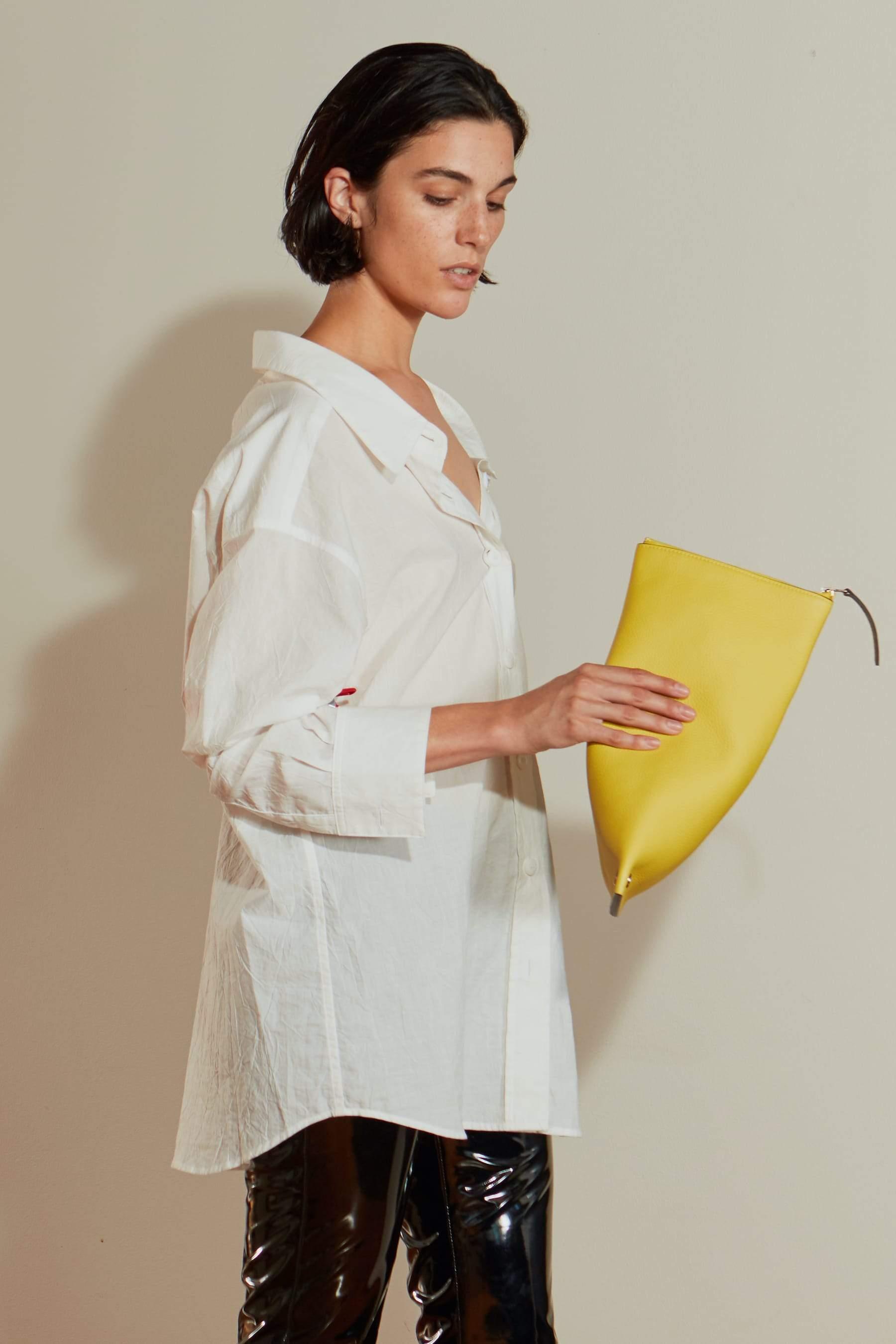 Tabor Shirt in White by Simon Miller - 3