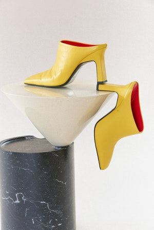 Foxy Mule in Saturn Yellow by Simon Miller - 2