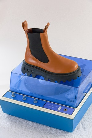 Scrambler Boot in Toffee by Simon Miller - 2