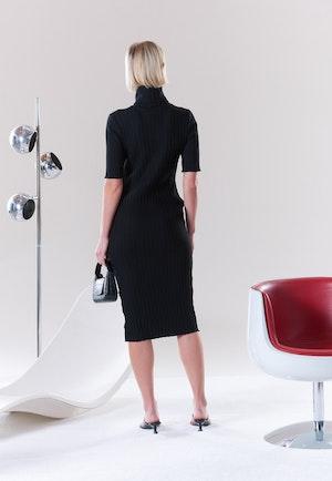 RIB Novo Dress in Black by Simon Miller - 3