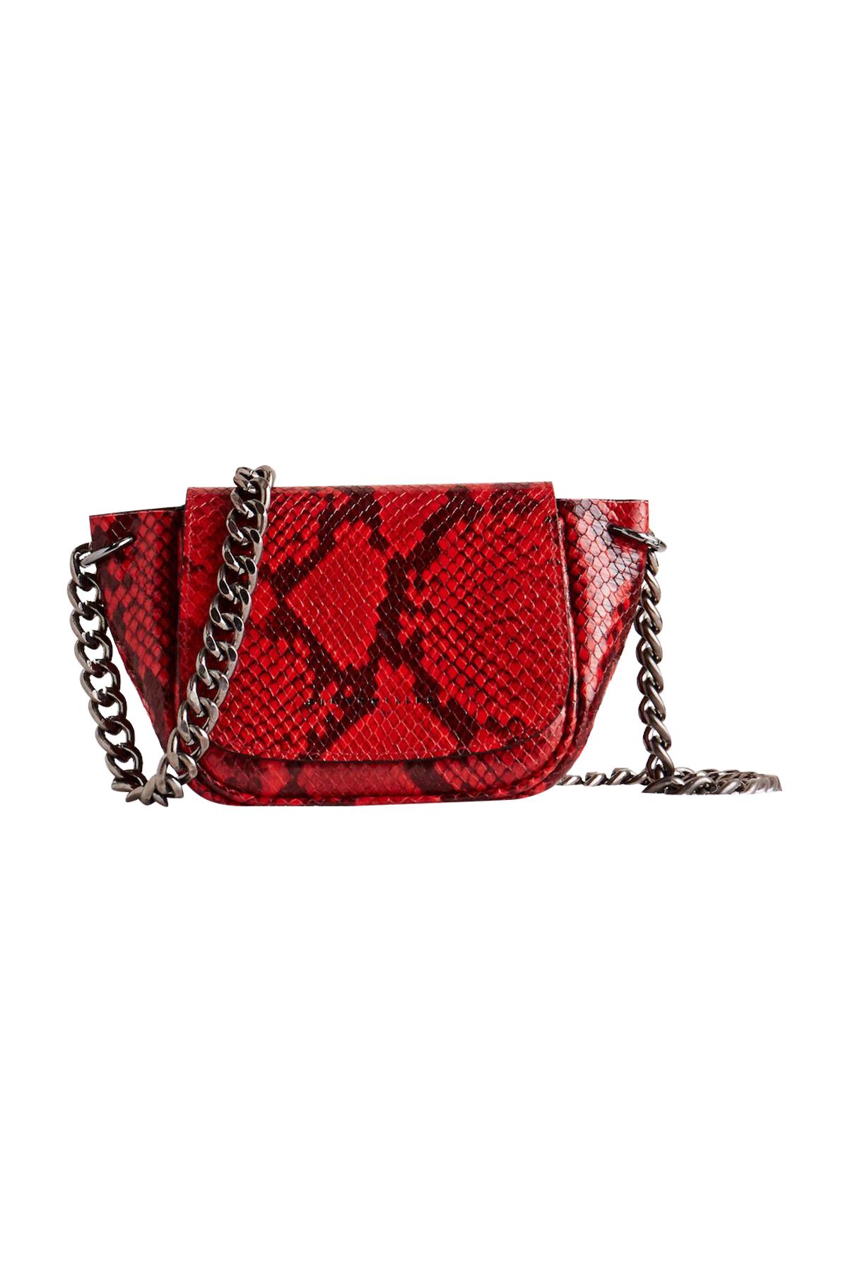 Mini Bend Bag in Tango Red by Simon Miller - 1
