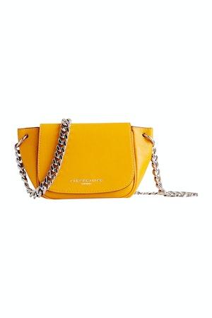 Mini Bend Bag in Signal Yellow by Simon Miller - 1