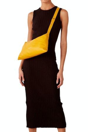 RIB Tali Dress in Black by Simon Miller - 1