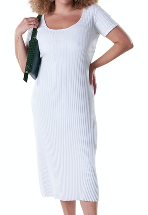 RIB Andros Dress in Macadamia by Simon Miller - 1