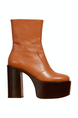 High Raid Boot in Toffee by Simon Miller - 1