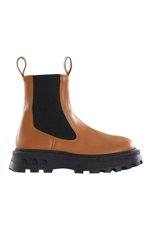 Scrambler Boot in Toffee by Simon Miller - 1