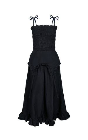 Aisle Dress in Black by Sandy Liang - 1