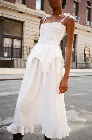 Aisle Dress in White by Sandy Liang - 3