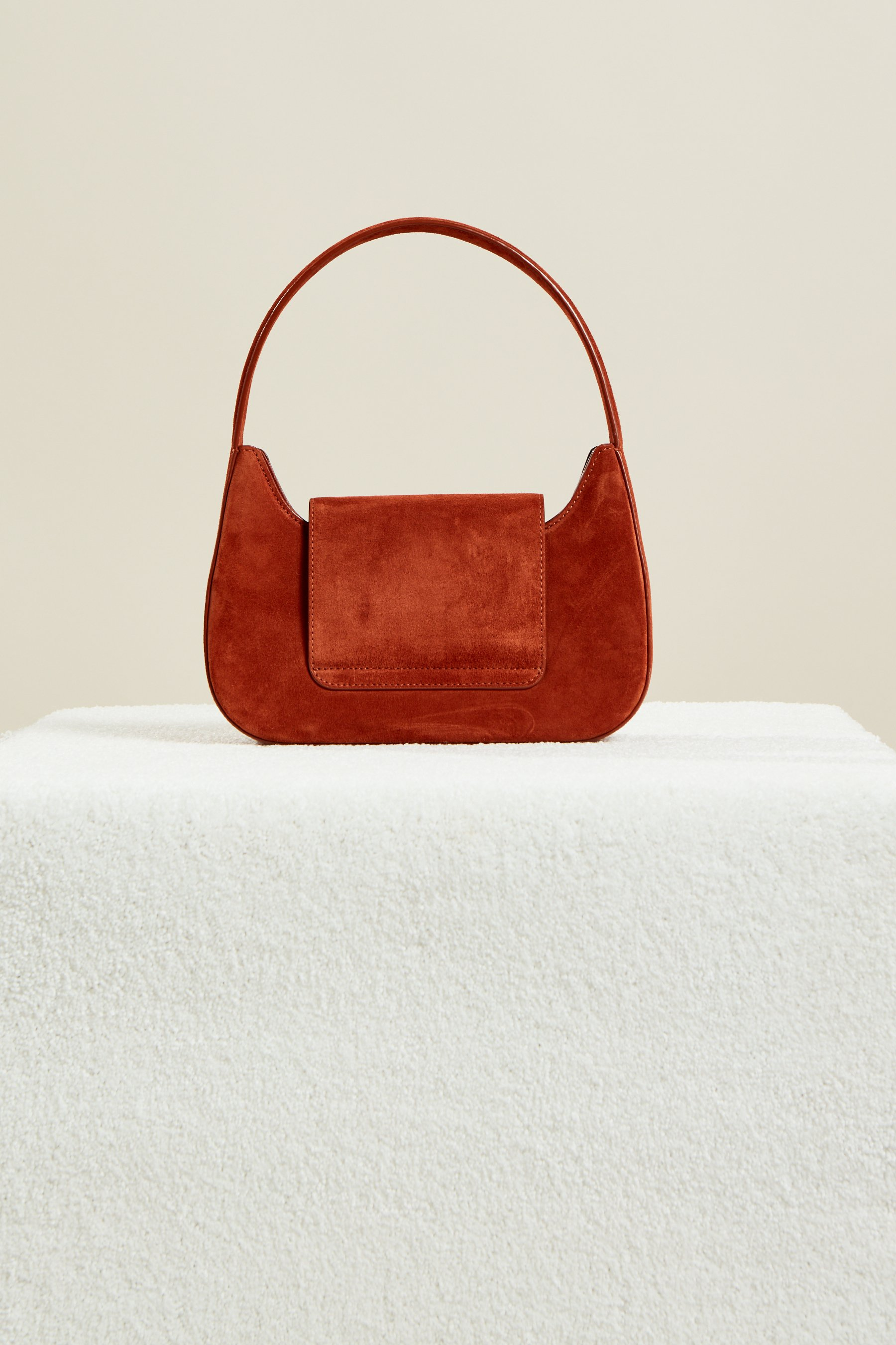 Retro Bag in Rust Suede by Simon Miller - 3