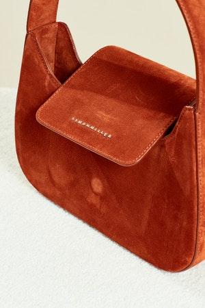 Retro Bag in Rust Suede by Simon Miller - 4