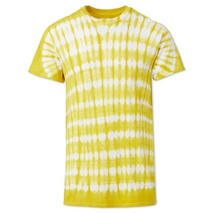 Yellow Ayumi Cotton Hand-Batik S189 T-shirt by Studio 189 - 1