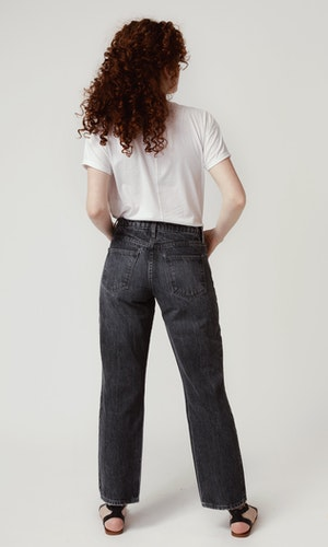 Mid Rise Relaxed Leg - Black by Triarchy - 3