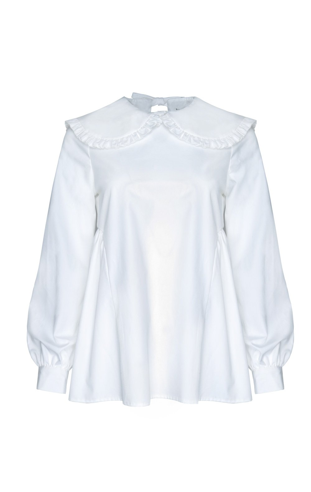 Laurie Top in White by Sandy Liang - 1