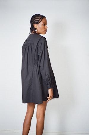 Crash Dress in Black by Sandy Liang - 2