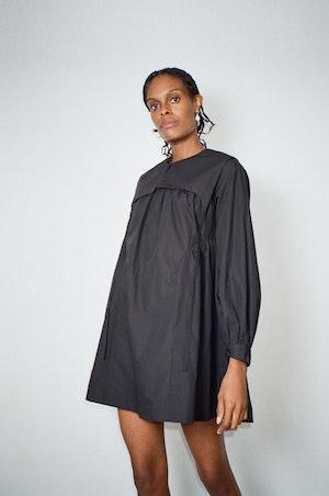 Crash Dress in Black by Sandy Liang - 3