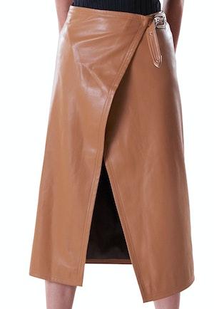 VEGAN Vega Skirt in Toffee by Simon Miller - 1
