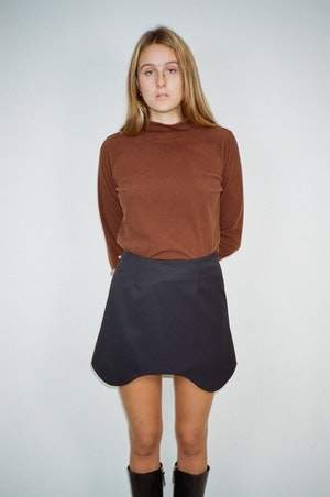 Swerve Skirt by Sandy Liang - 3