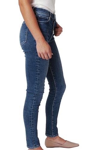 Plastic-Free Stretch Skinny Jean - Dark Indigo by Triarchy - 1