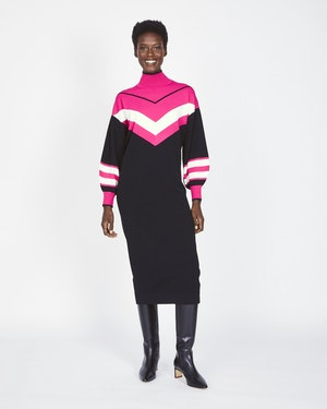 Ivanna Knit Dress by Tanya Taylor - 1