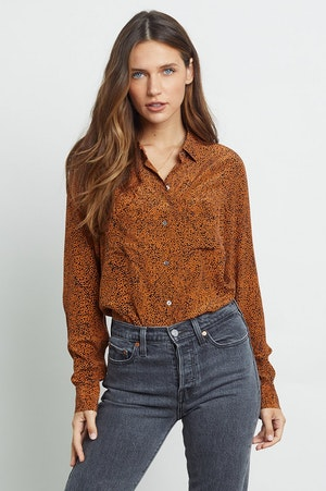 KATE - SILK RUST SPECKLED by Rails - 4
