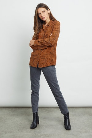KATE - SILK RUST SPECKLED by Rails - 3