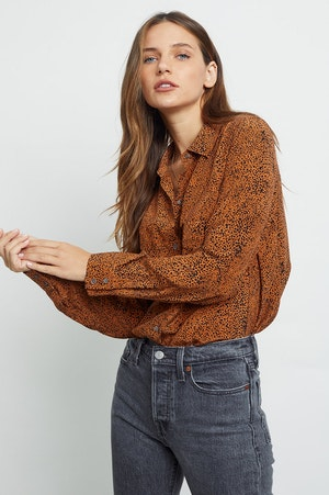 KATE - SILK RUST SPECKLED by Rails - 5