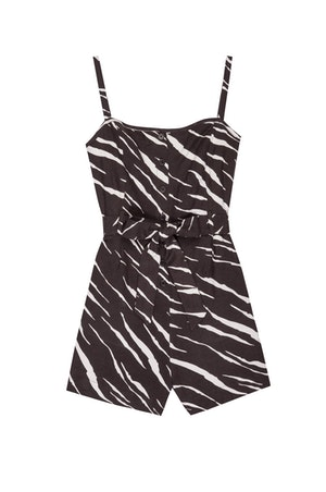 WELLS - BLACK ABSTRACT TIGER by Rails - 1