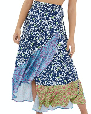 The Beach to Brunch Wrap Skirt by Tanya Taylor - 1