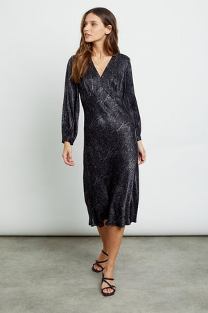 SHILOH - CHARCOAL SNAKESKIN by Rails - 5