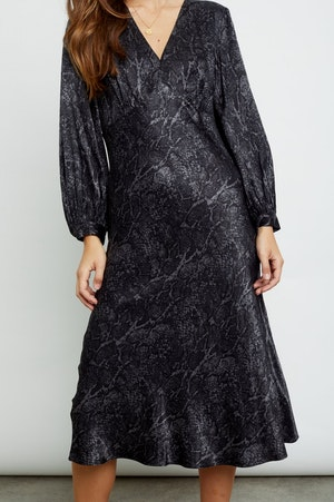 SHILOH - CHARCOAL SNAKESKIN by Rails - 3